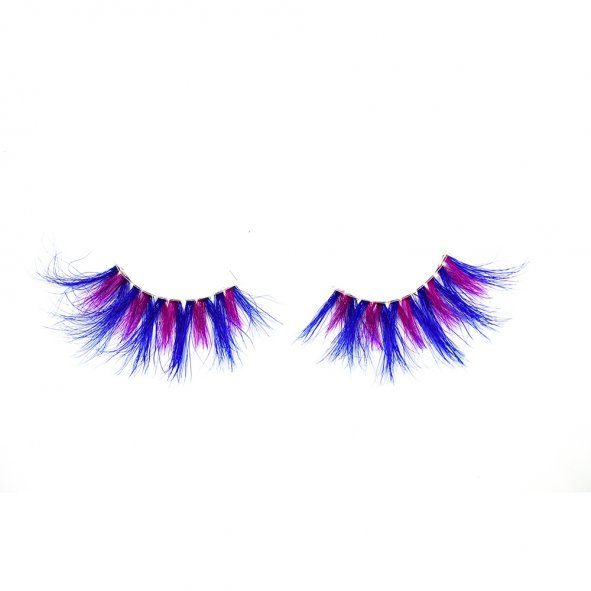 <b>colored eyelashes, 3d mink eyelashes</b>