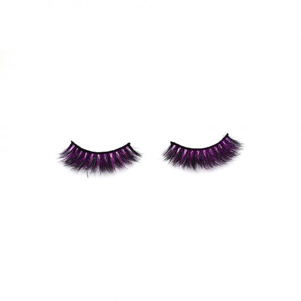 colored lashes, best lashes for small eyes