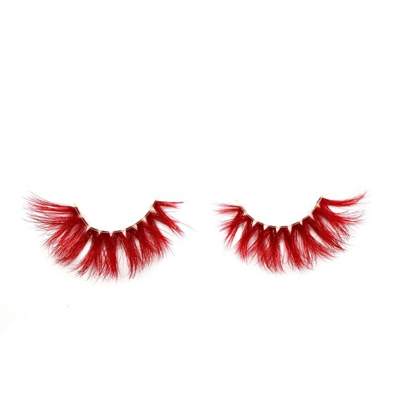 Red Eyelashes, Single Eyelashes